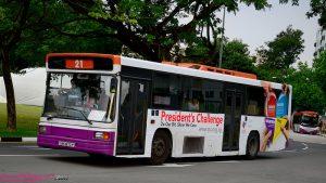 reclame op bus
